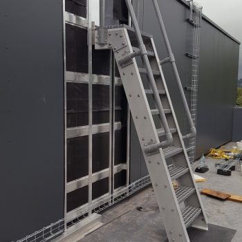 Yorkshire Schools GRP Ship Ladder Installed