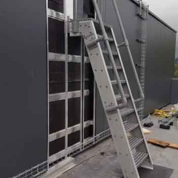 Evergrip Yorkshire Schools GRP Ship Ladder Installed