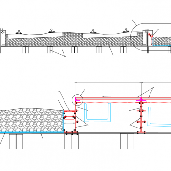 Cook Street Bridge Example CAD Drawing for GRP Installation