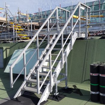 Meadowhall GRP Stairs Installed