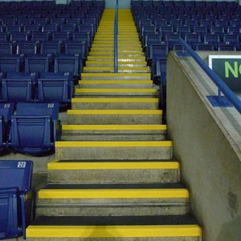 Anti-Slip stairs in the MotorPoint arena