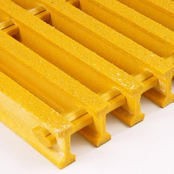 Pultruded GRP Open Anti-Slip Gritted Grating