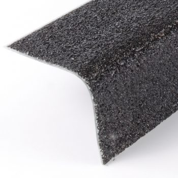 Evergrip Anti-Slip Flooring Stair Nosing Black