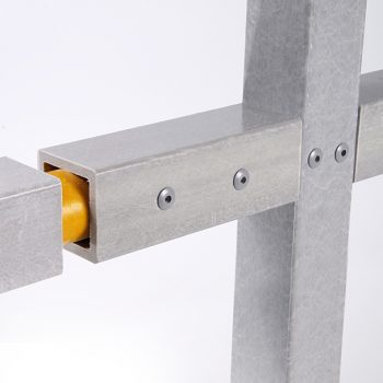 GRP Industrial Handrail Square Section