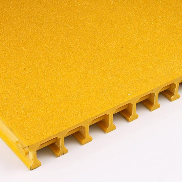 Pultruded GRP Anti-Slip Covered and Gritted Grating