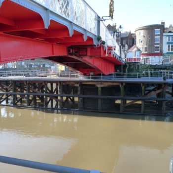GRP Bridge Decking Grating Whitby Swing Bridge