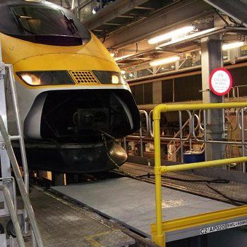 GRP Railway Systems Access Ramp Installation