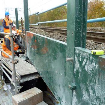 Ballast Panel System Installation