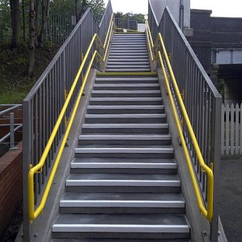 Overline Pedestrian Bridges Anti-Slip Stair Covers