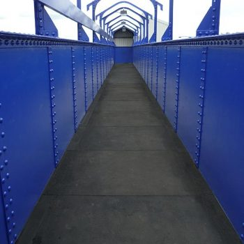Overline Pedestrian Bridges Anti-Slip Covering