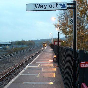 GRP Railway Stations Platform Repair Boards in Situ