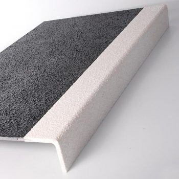 Anti Slip Stair Tread Cover Grey and Yellow