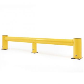 Yellow Impact Traffic Barrier