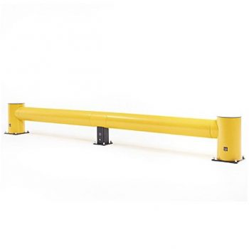 Yellow Traffic Barrier
