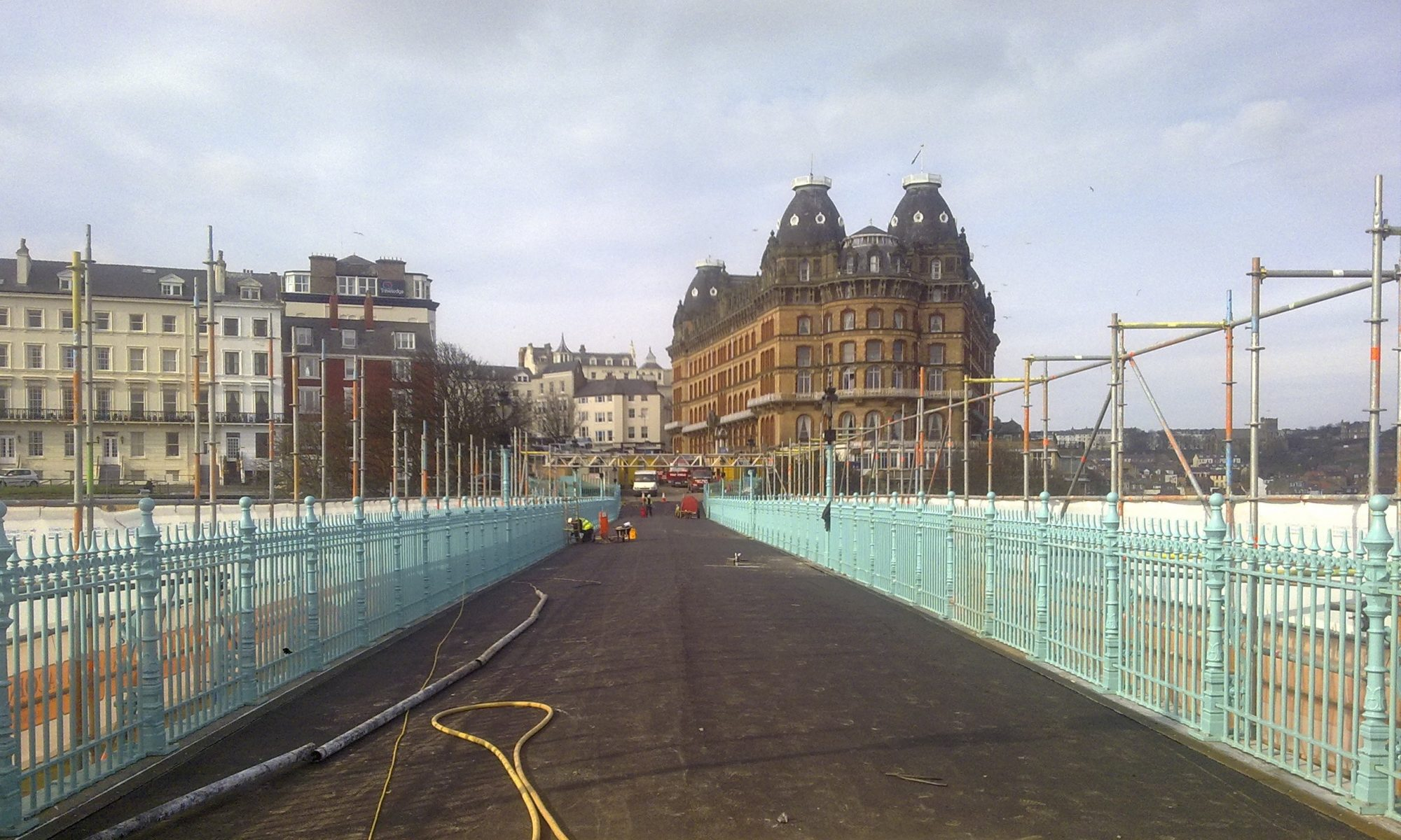 Scarborough Spa Footbridge GRP Refurb