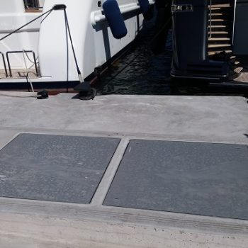 Evergrip Greece GRP Utility Covers Marine Environment