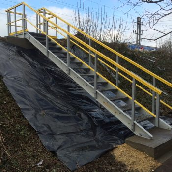Embankment Access GRP Stairs