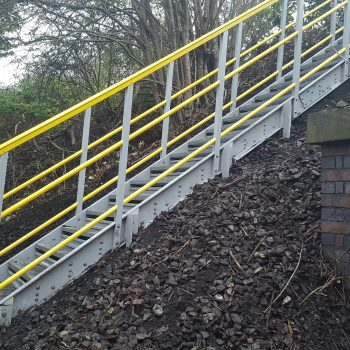 Embankment Steps for Access