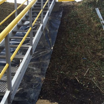 Fibreglass Embankment Steps