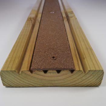 Evergrip Decking Strips Brown Decking Strip