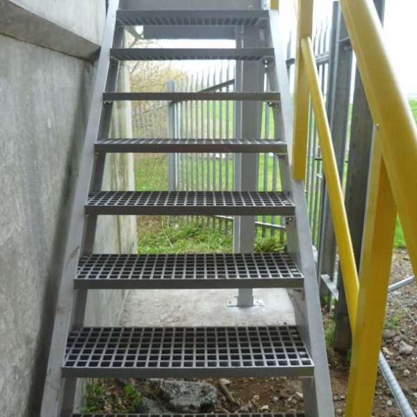 GRP stairway for maintenance access