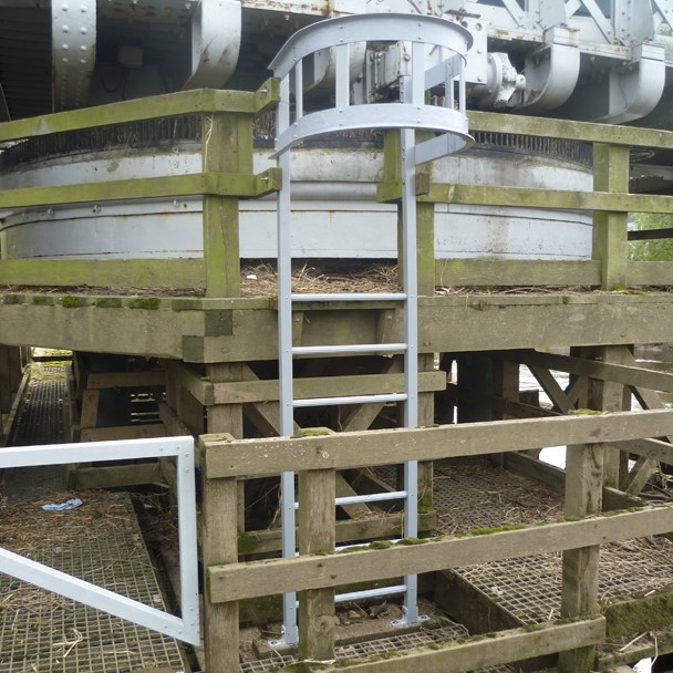 Road Bridge Fixed Access Ladder