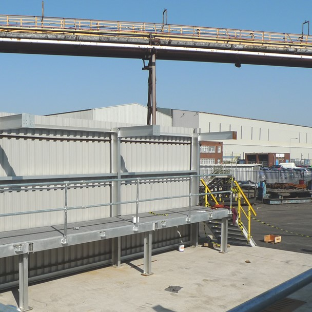 Steel Manufacturing plant installation