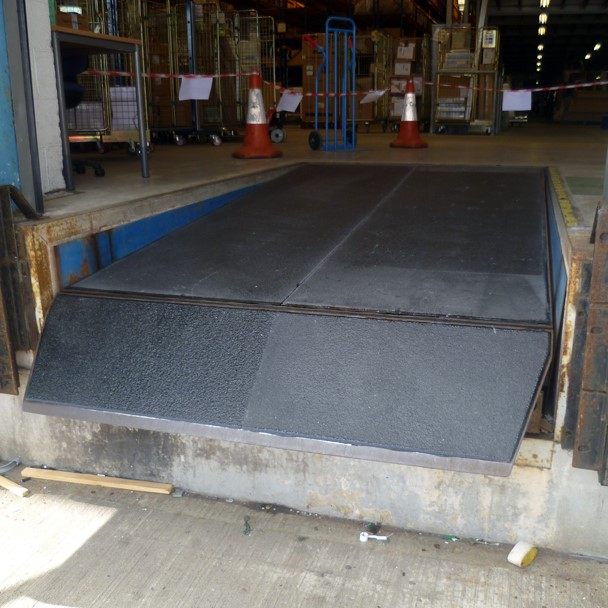 After anti slip sheets installation