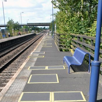 Bramley station everdeck panels