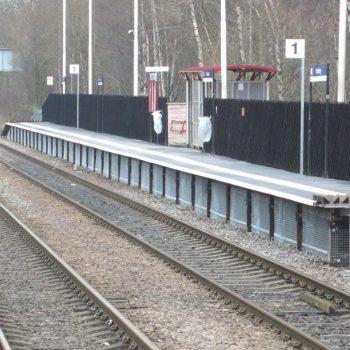 Bramley station installation