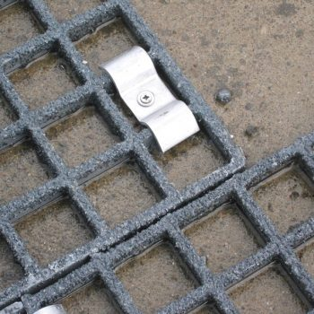 Close up of GRP Grating