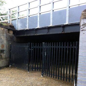 Composite Structure for canal bridge