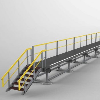 Digital Mock up of access platform