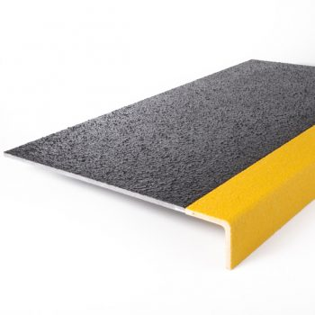 GRP Anti-slip Stair Tread Cover Yellow Perma-Contrast Nose