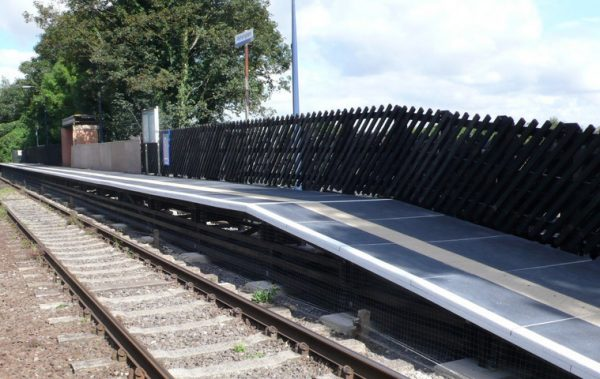 Fibreglass EverDeck Railway Platform Surface Panels