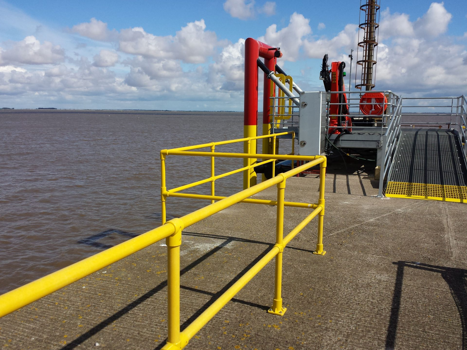 GRP Handrail Commercial Port