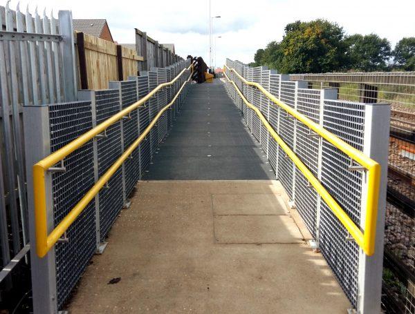 GRP Railway Platform Access Ramp