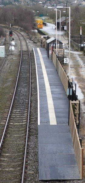 Rural Railway Station GRP Platform Surface by Evergrip