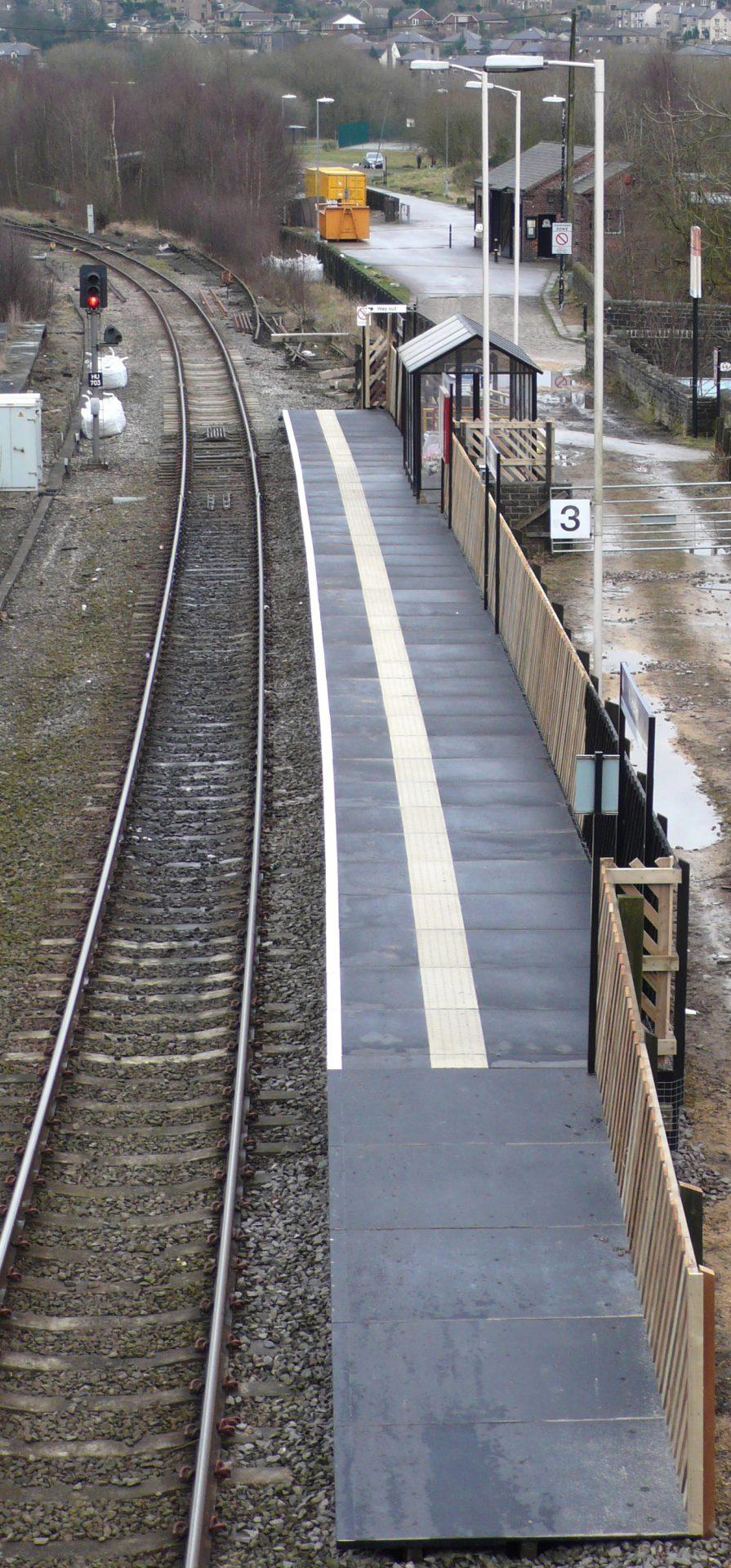 Rural Railway Station GRP Platform Surface by Evergrip