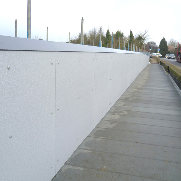 Road Bridge Parapet GRP Wall Cladding