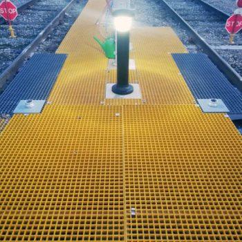 GRP Track Pans Evergrip Case Study