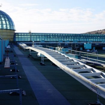 Meadowhall Roof Raceway Track