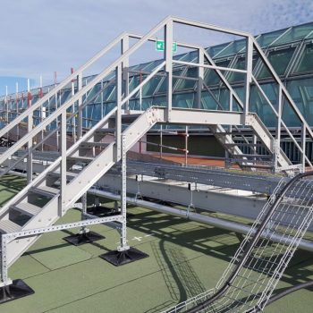 Meadowhall GRP Roof Stepovers