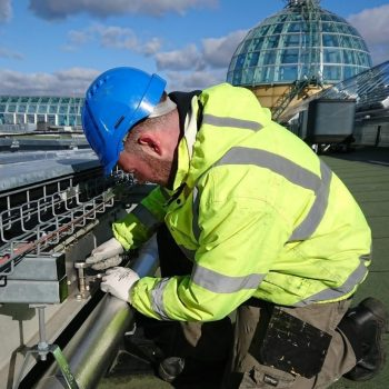 Installation of Evergrip's Service Raceway at Meadowhall